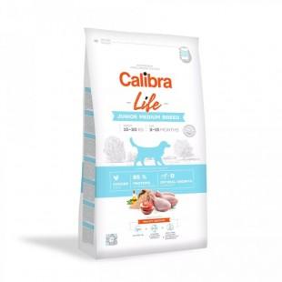 CALIBRA Dog Life Junior Medium Breed Chicken pro mladé psy středních plemen