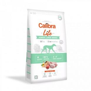 CALIBRA Dog Life Junior Large Breed Chicken pro mladé psy velkých plemen