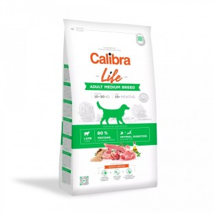 CALIBRA Dog Life Adult Medium Breed Lamb pro dospělé psy středních plemen