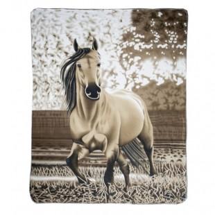 Fleecová deka HKM Falbe 150x190 cm