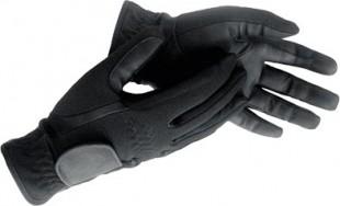 Jezdecké rukavice HKM Thermo zimní černé