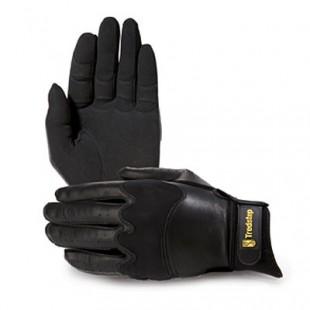 Jezdecké rukavice TREDSTEP JumperPro černé