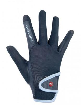 Jezdecké rukavice HKM County modré