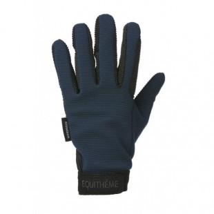 Jezdecké rukavice E-T Knit zimní
