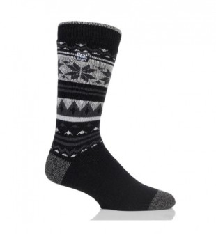 Ponožky Heat Holders Lite pánské 39 - 45 Nordic černé