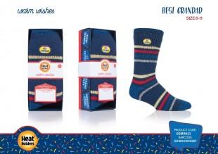 Ponožky Heat Holders v dárkové krabičce Pro dědečka