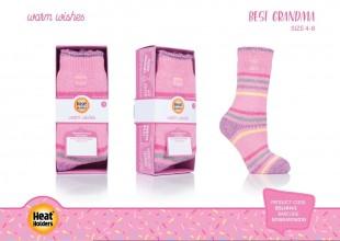 Ponožky Heat Holders v dárkové krabičce Pro babičku