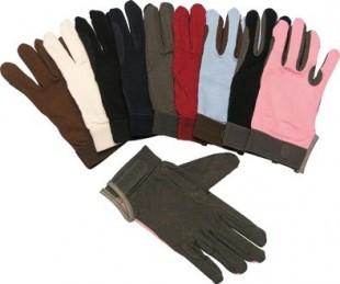 Jezdecké rukavice Standard bavlněné
