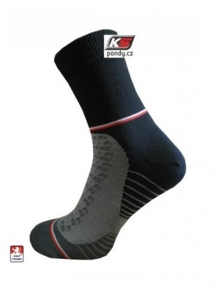 Funkční ponožky PONDY KS-ONE černé