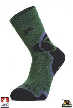 Ponožky Dr. HUNTER WINTER s vlnou zimní pro myslivce, rybáře