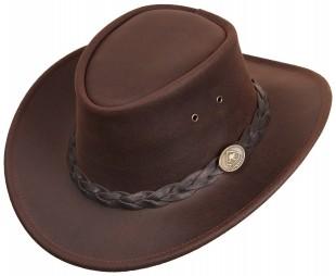 Westernový klobouk SCIPPIS Bushman kožený