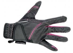 Jezdecké rukavice HKM Fashion