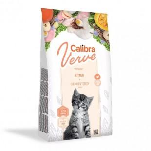 CALIBRA Cat Verve GF Kitten Chicken&Turkey pro koťata