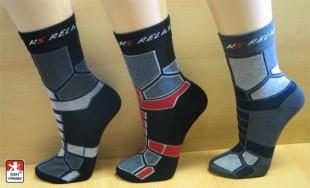 Ponožky PONDY RELAX polofroté různé barvy