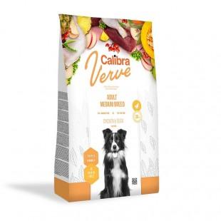 CALIBRA Dog Verve GF Adult Medium Chicken&Duck pro dospělé psy středních plemen