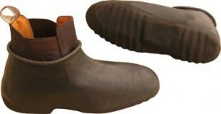 Galoše na jezdecké boty nepromokavé