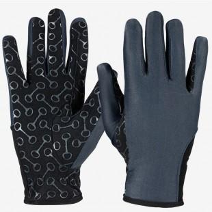 Jezdecké rukavice HORZE Silicon Print dětské