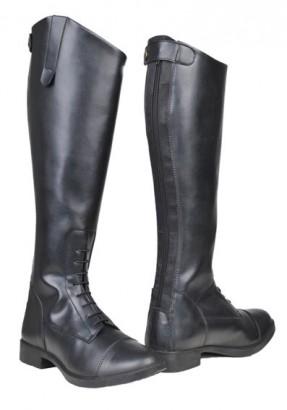 Jezdecké boty HKM New Fashion dětské syntetické černé