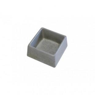 Betonová miska čtvercová pro psy, kočky a hlodavce 600 ml