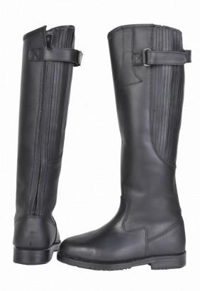 Jezdecké zimní boty HKM Winter kožené