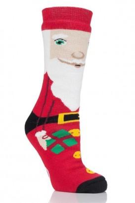 Thermoponožky Heat Holders dámské vánoční 37-42 Santa s ABS