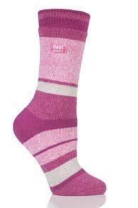 Ponožky Heat Holders Lite dámské 37-41 Pruhy