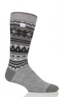 Ponožky Heat Holders Lite pánské 39 - 45 Nordic šedé
