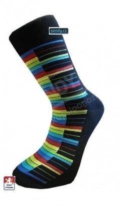 Ponožky PONDY Color Piano designové