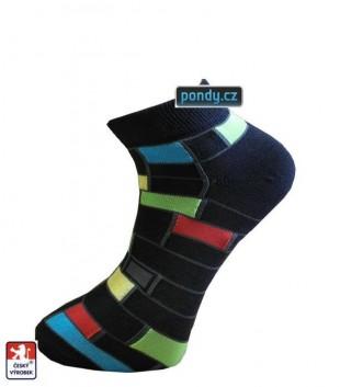 Ponožky PONDY Mondrian designové snížené