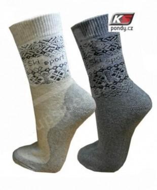 Ponožky PONDY FROTÉ NORSKO