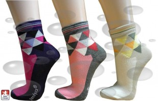 Ponožky PONDY ELASTIK-TRIANGL, dámské, různé barvy