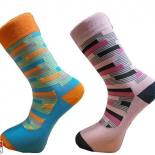Ponožky PONDY designové COLOR RASTR