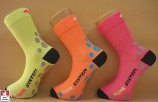 Ponožky sportovní PONDY Kompres Neon