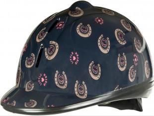 Jezdecká helma dětská  HKM Champ