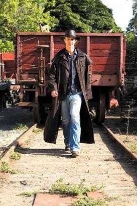Westernový australský kabát SCIPPIS Longrider coat