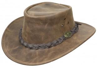 Westernový klobouk SCIPPIS Enfield kožený