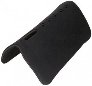 Westernová deka BUSSE Filc černá 80x80cm