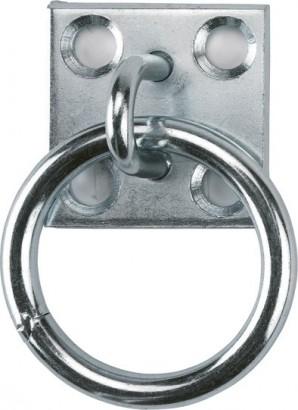 Oko zinkované vázací s platem