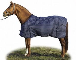 Zimní deka HKM 840D Nylon modrá