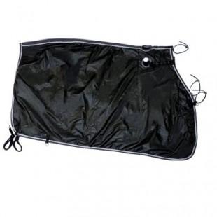 Bederní deka kočárová černá 110cm