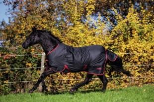 Výběhová deka RugBe Zero.1 černá