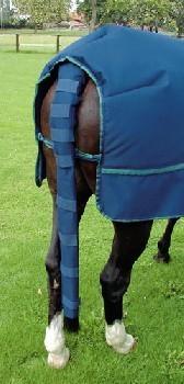 Chránič ocasu modrý