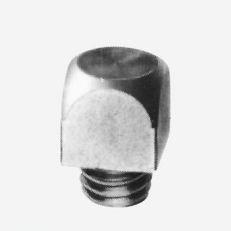 Ozub M 12 12x12x20mm bez hrotu