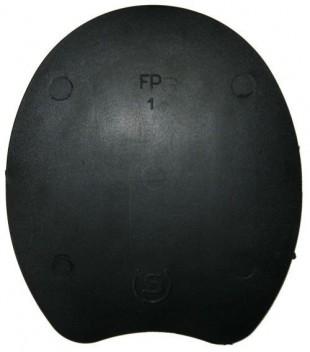 Podložka pod podkovu DOUBLE S klínová černá