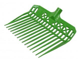 Mistovací vidle GW plastové zelené