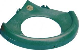 Ochranné víko OK PLAST pro 16 ltr. rohový žlab
