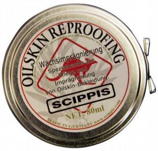 Impregnační vosk na oilskin - REPROOFING WAX 80 ml
