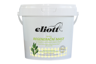 Bylinná regenerační mast na kopyta s vavřínovým olejem Eliott® 900ml