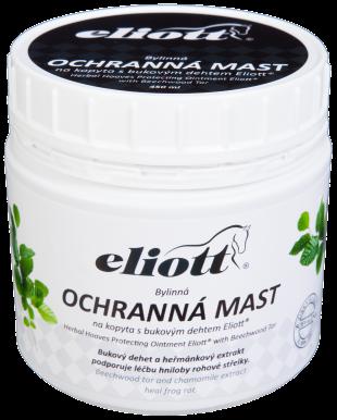 Bylinná ochranná mast na kopyta s bukovým dehtem Eliott® 450 ml