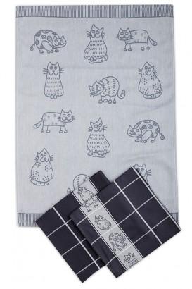 Utěrky Kočka (3 ks v balení)